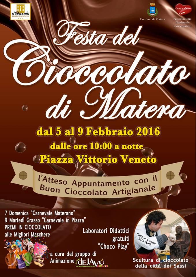 1- Festa del Cioccolato Matera
