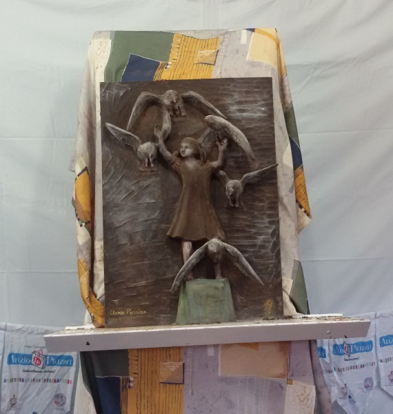 Choco scultura quadro